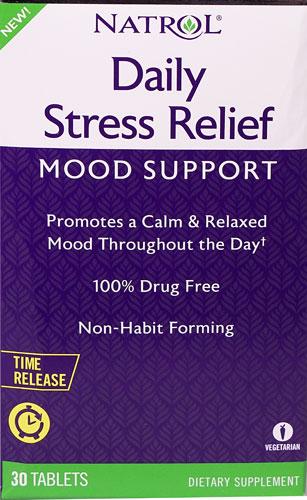 Natrol Daily, Tablet Herbal Untuk Memperbaiki Mood