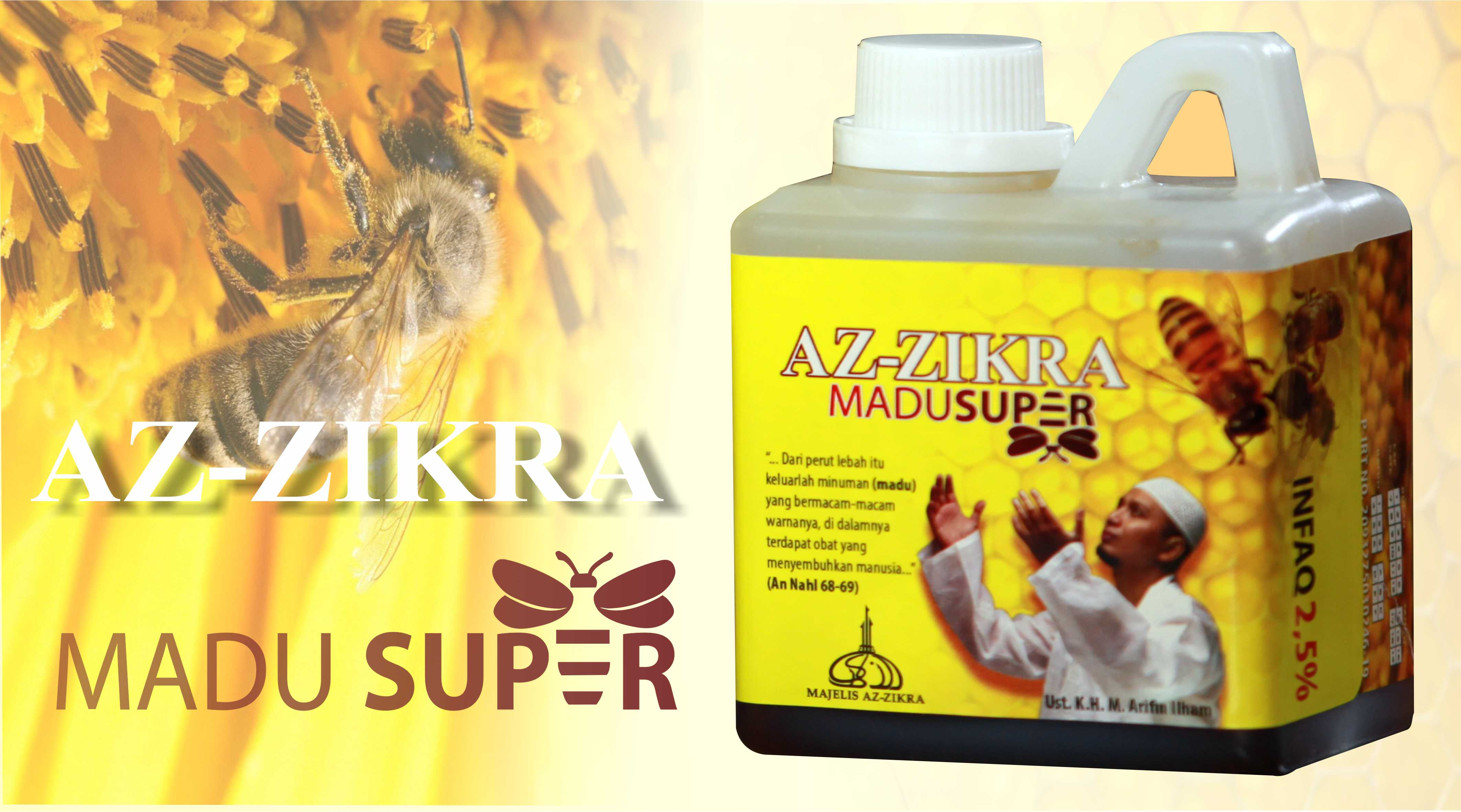 Produk Herbal Madu Az-Zikra